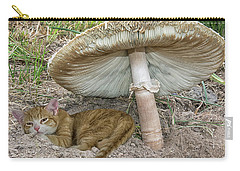 By The Shade Of The Old Mushroom Tree Carry-all Pouch
