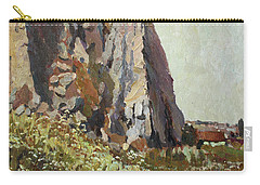 By The Stone Warrior Carry-all Pouch