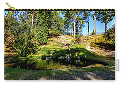 Carry-all Pouch featuring the photograph By The Water by Ken Frischkorn