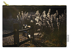 Carry-all Pouch featuring the photograph By The Way by Steven Sparks