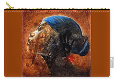 Carry-all Pouch featuring the painting By Your Faith by Christopher Marion Thomas