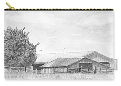 Byhalia Road Farm - Drawing Carry-all Pouch by Barry Jones