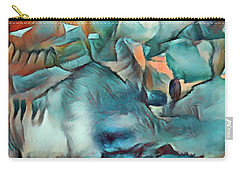 Byzantine Abstraction Carry-all Pouch