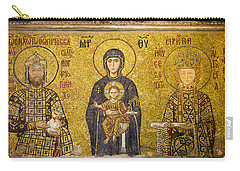 Byzantine Mosaic In Hagia Sophia Carry-all Pouch