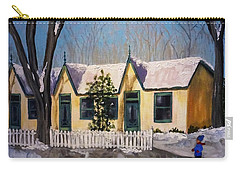 Cabbagetown Christmas Carry-all Pouch by Diane Arlitt