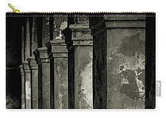 Carry-all Pouch featuring the photograph Cabildo Columns by KG Thienemann