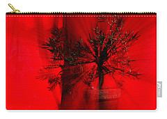 Carry-all Pouch featuring the photograph Cabin Fever Dance by Susan Capuano
