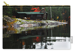 Cabin On The Rocks Carry-all Pouch