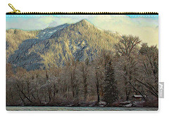 Cabin On The Skagit River Carry-all Pouch