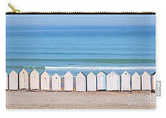 Carry-all Pouch featuring the photograph Cabins by Delphimages Photo Creations