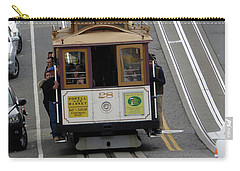 Carry-all Pouch featuring the photograph Cable Car by Steven Spak