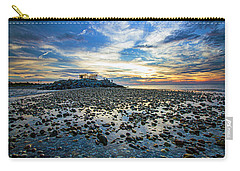 Cable Crossing Orient Point Sunset Carry-all Pouch