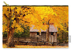 Carry-all Pouch featuring the photograph Golden Cable Mill by Geraldine DeBoer