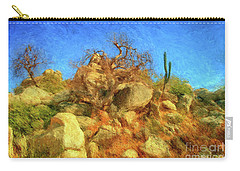Cabo Park Landscape Carry-all Pouch by Gerhardt Isringhaus