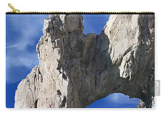 Carry-all Pouch featuring the photograph Cabo San Lucas Archway by Shane Bechler