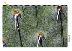 Cactus Abstract 11 Carry-all Pouch by Mary Bedy