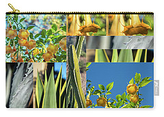 Cactus And Bells Carry-all Pouch