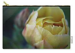 Carry-all Pouch featuring the photograph Cactus Beauty by Amee Cave