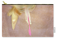 Cactus Bloom Carry-all Pouch by Judy Hall-Folde