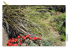 Crimson Barrel Cactus Carry-all Pouch