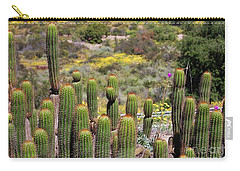 Cactus Field In San Diego Carry-all Pouch