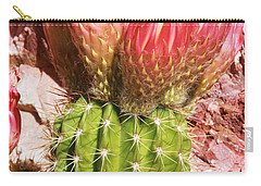 Cactus Flowe Bee Carry-all Pouch