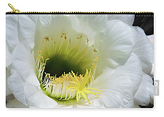 Cactus Flower Carry-all Pouch