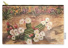 Cactus Garden Carry-all Pouch