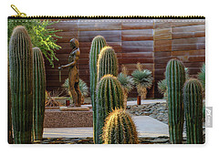 Carry-all Pouch featuring the photograph Cactus Garden by Glenn DiPaola