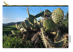 Carry-all Pouch featuring the photograph Cactus In The Mountains by Matt Harang