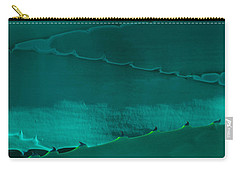 Cactus Leaf Abstract Carry-all Pouch