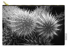 Carry-all Pouch featuring the photograph Cactus Spines by Phyllis Denton