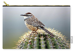 Cactus Wren On Saguaro Carry-all Pouch