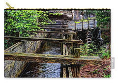 Cades Cove Grist Mill In The Great Smoky Mountains National Park  Carry-all Pouch