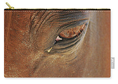 Cades Cove Horse 20150907_39 Carry-all Pouch