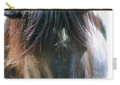 Carry-all Pouch featuring the photograph Cades Cove Horse 20160525_244 by Tina Hopkins