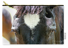 Carry-all Pouch featuring the photograph Cades Cove Horse 20160525_245 by Tina Hopkins