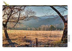 Carry-all Pouch featuring the photograph Cades Cove, Spring 2017 by Douglas Stucky