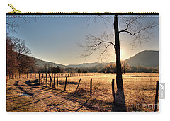 Carry-all Pouch featuring the photograph Cades Cove, Spring 2017,i by Douglas Stucky