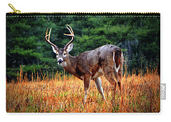 Cades Cove - The Buck Stopped Here 002 Carry-all Pouch by George Bostian