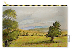 Cade's Cove Vista - Scenic Landscape Carry-all Pouch by Barry Jones