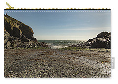 Carry-all Pouch featuring the photograph Cadgwith Cove Beach by Brian Roscorla