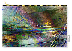 Carry-all Pouch featuring the digital art Cadillac Daze by Kiki Art