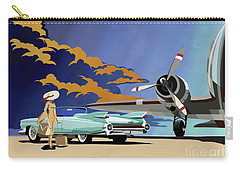 Cadillac Eldorado 1959 Carry-all Pouch by Sassan Filsoof