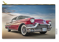 Carry-all Pouch featuring the digital art Cadillac Jack by Douglas Pittman