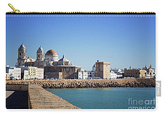Carry-all Pouch featuring the photograph Cadiz Cathedral Andalusia by Lynn Bolt