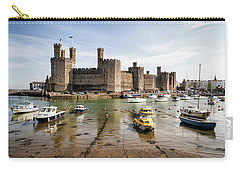 Caernarfon Castle, North Wales Carry-all Pouch