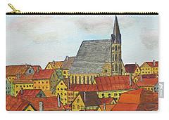 Cesky Krumlov Carry-all Pouch by Jack G Brauer