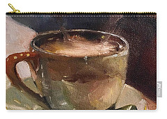 Cafe Love Coffee Painting Carry-all Pouch