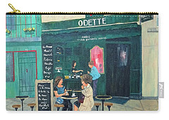 Cafe Odette Carry-all Pouch by Diane Arlitt